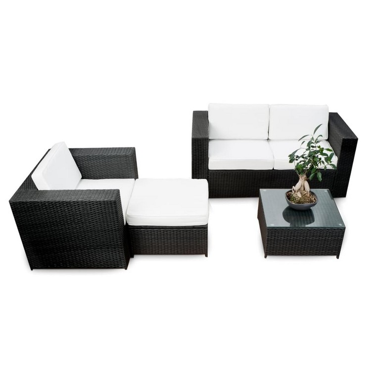 12tlg Balkon Lounge Set Rattan Xxl Gartenmbel Real with regard to size 1024 X 1024