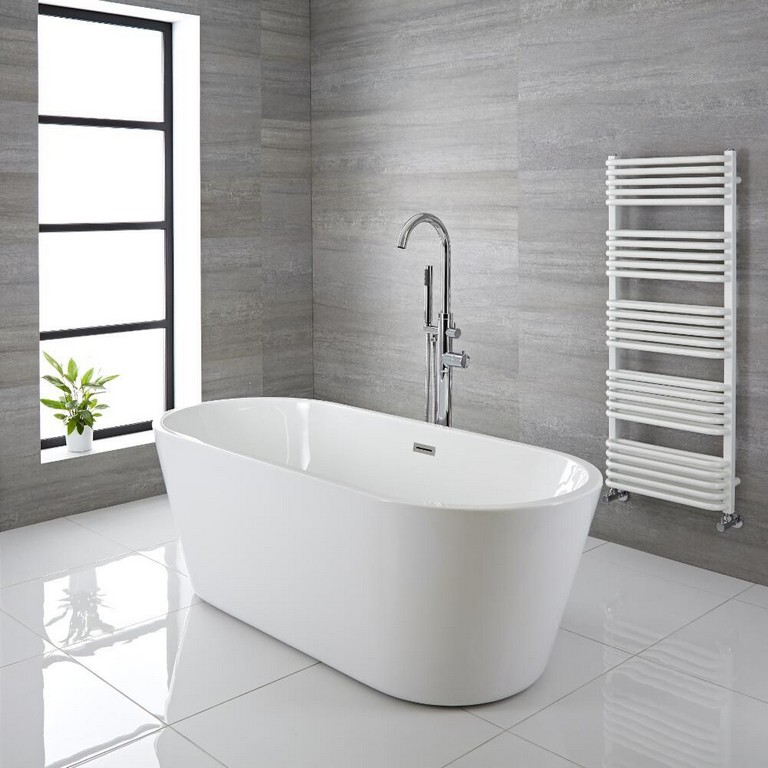 Freistehende Badewanne Oval 1695mm Covelly throughout sizing 1000 X 1000