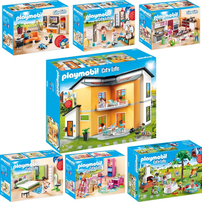 Ideen Badezimmer 9268 Mit Luxus Playmobil Badezimmer 9268 City with dimensions 1600 X 1600