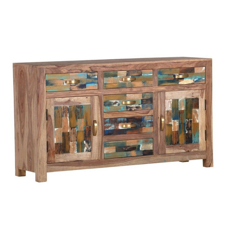 Landscape Sideboard 1408143 Cm Altholz Sheesham Massiv Mehrfarbig with proportions 1024 X 1024