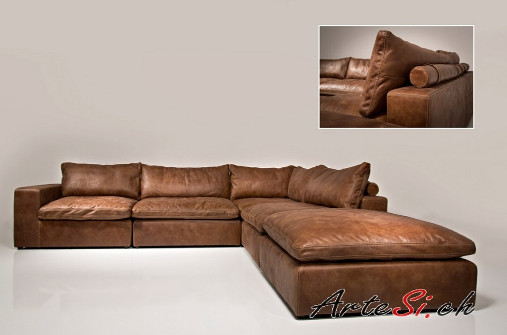 Sofa Leder Braun Trendy Big Sofa Leder Braun With Big Sofa Leder for sizing 1200 X 793