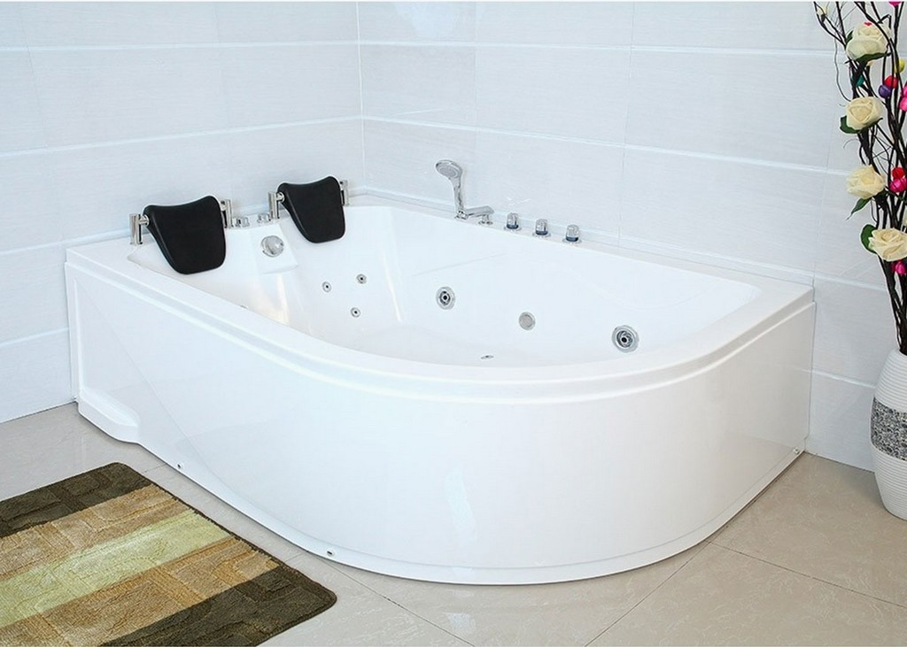 Xxl Luxus Whirlpool Badewanne Bali Links Mit 14 Massage Dsen within measurements 1200 X 857