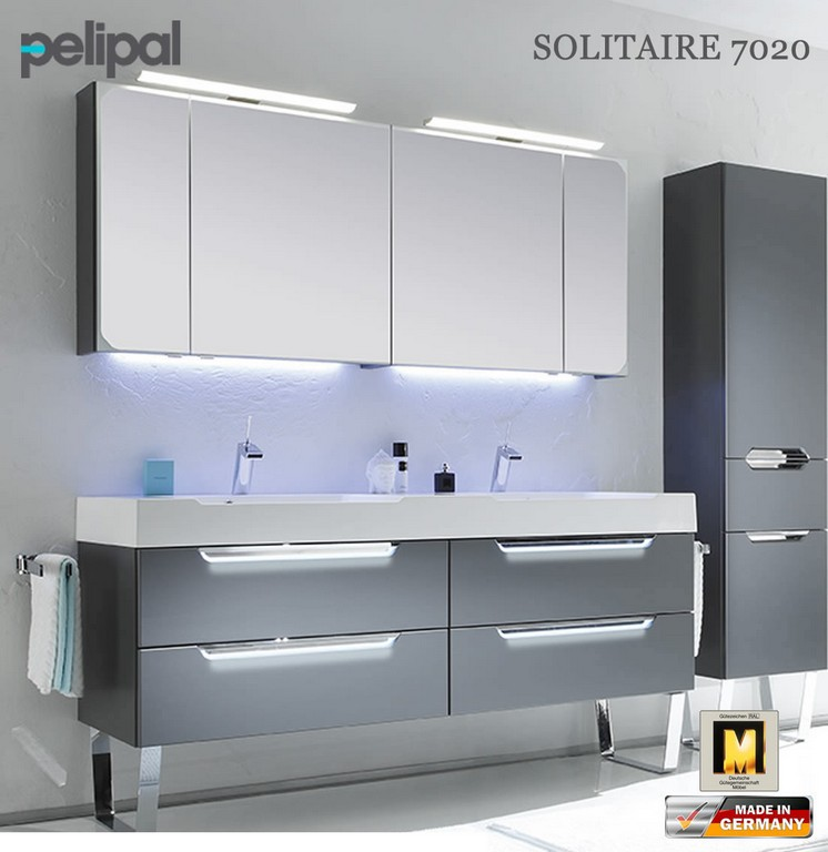 Pelipal Solitaire 7020 Badmbel Set Mit 1710 Mm Doppelwaschtisch with regard to sizing 1103 X 1136