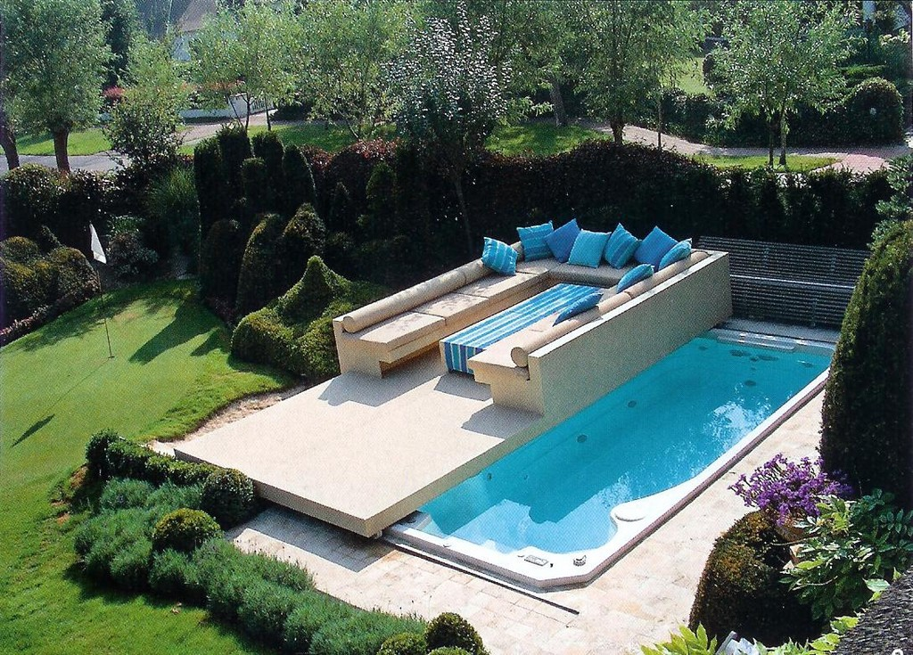 Mobile Terrasse Pool Haus Ideen