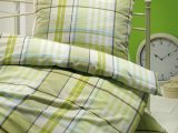 Brennet Edel Flanell Bettwsche Madison 135×200 155×220 Cm In Grn inside size 1500 X 1590