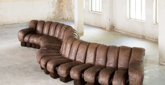 Okay So They Had This Desede Caterpillar Sofa In One Of The W regarding proportions 1280 X 1098