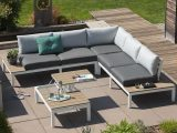 Outliv Hamilton Loungeecke 4 Teilig Aluminiumpolywood Garten pertaining to proportions 1100 X 1100
