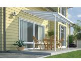 Pergola Murale Feria Couv Terrasse Blanc 3x3m Chalet Jardin with sizing 1200 X 1200
