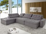 Sof De Canto 5 Lugares Retrtil E Reclinvel Confortable with measurements 1500 X 1000