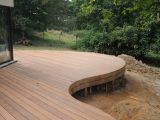 Terrasse Courbe Sur Mesure Bois Menuisier Meuble Wavre Mt Design with regard to dimensions 1400 X 930